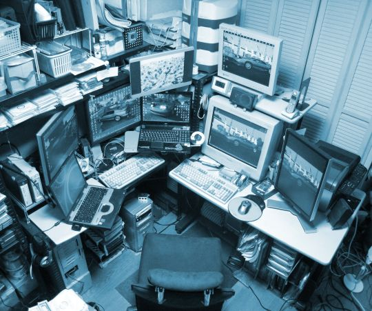 Snapshot 2008: PC room